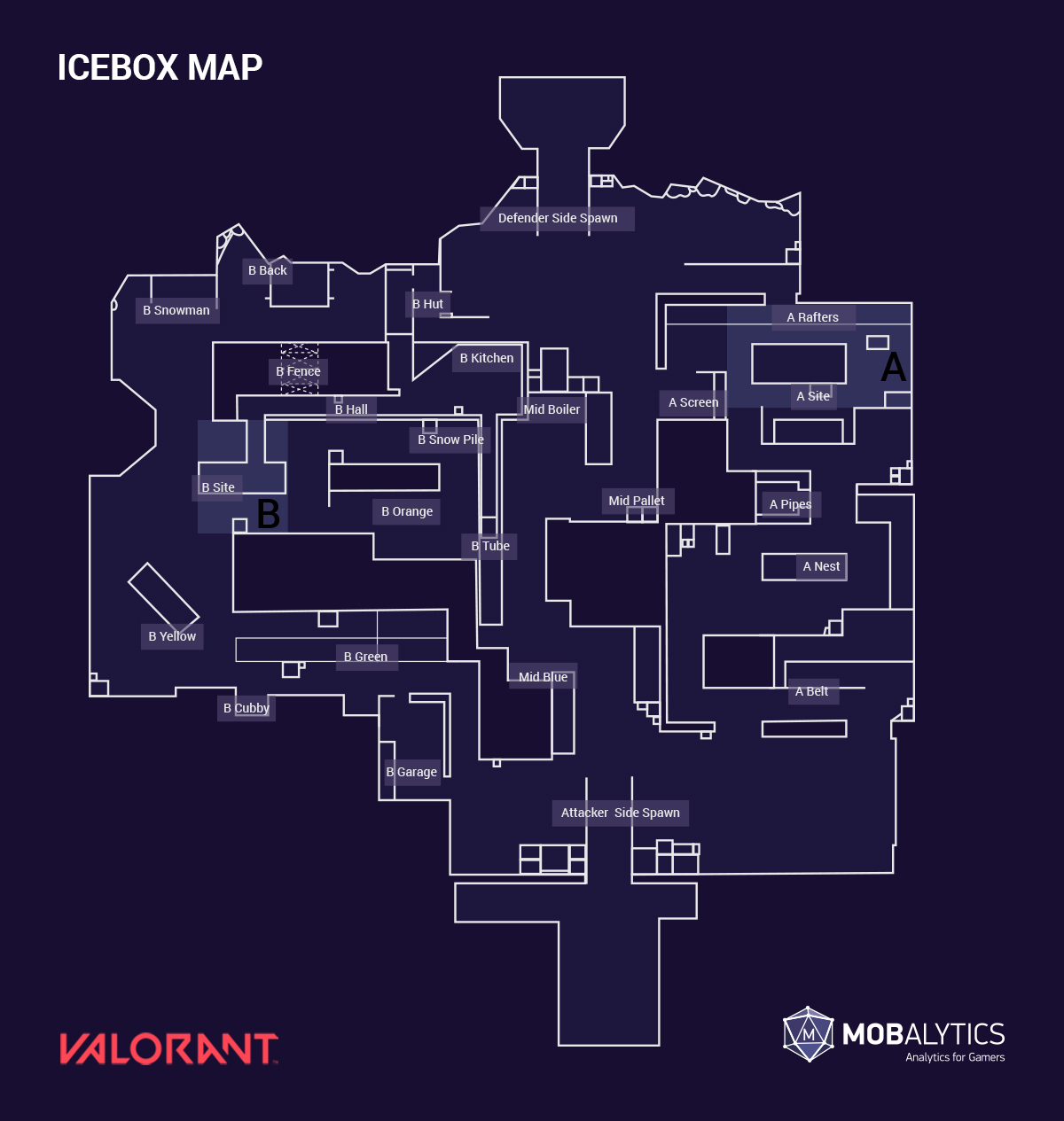 Icebox Map Callouts