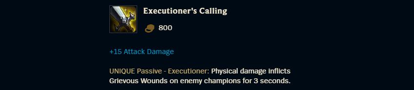 Executioner's Calling