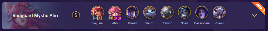 tft ahri team comp