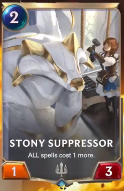 stony suppressor reveal