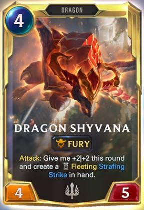 shyvana level 2 reveal