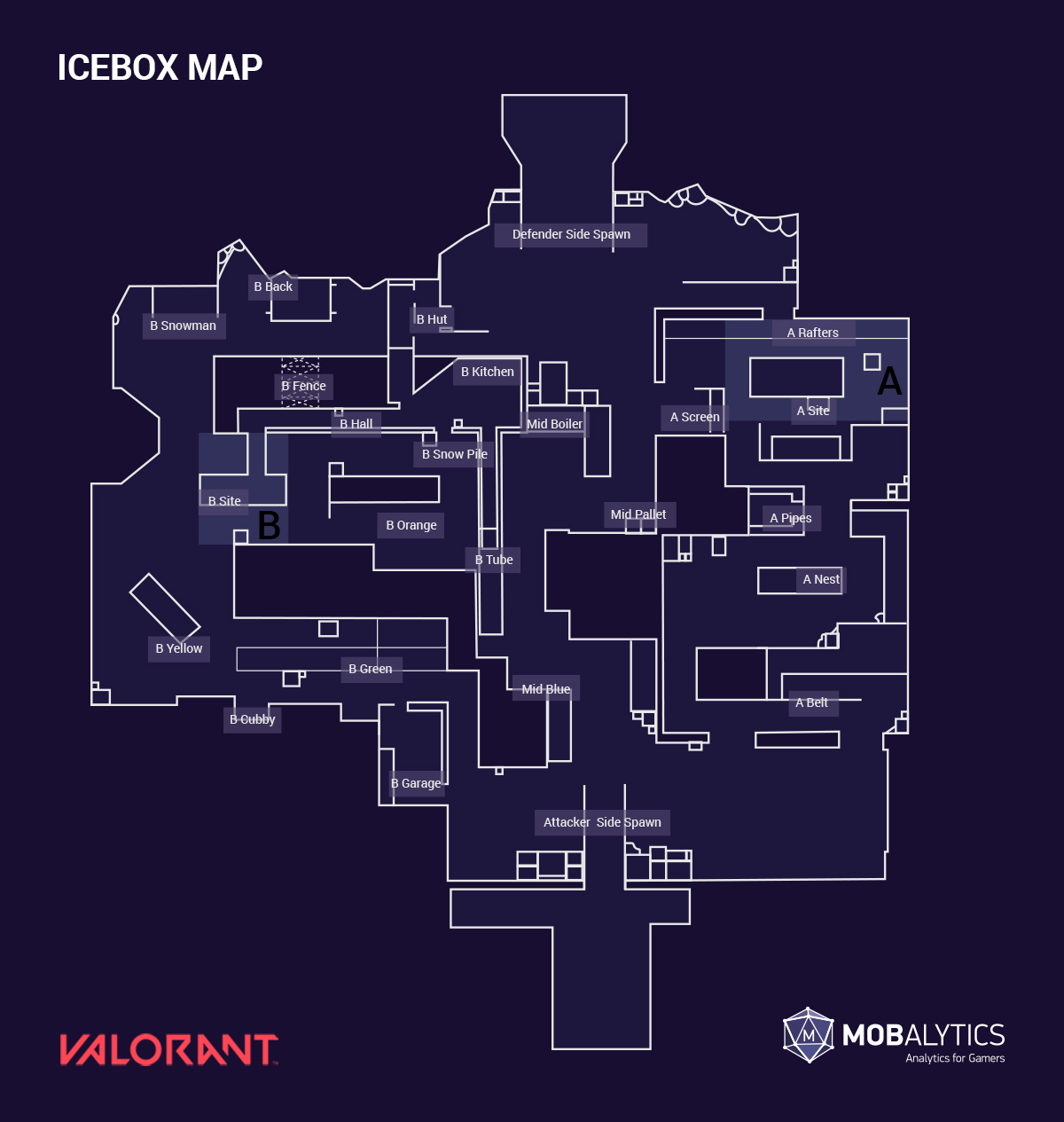 Icebox Map with callouts