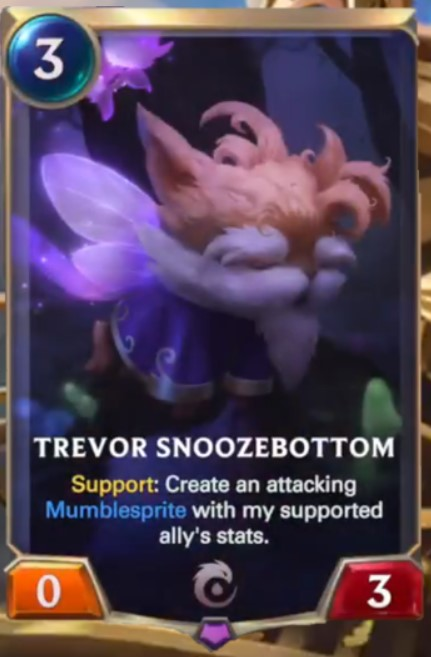 trevor snoozebottom reveal
