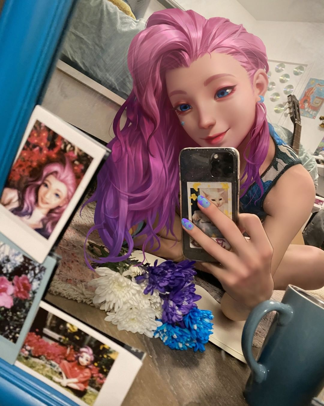 Seraphine Selfie