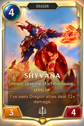shyvana level 1 reveal