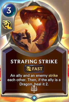 strafing strike reveal
