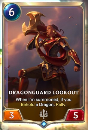 dragonguard lookout reveal