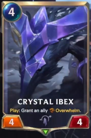 crystal ibex reveal