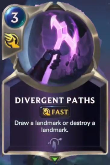divergent paths reveal