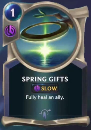 spring gifts reveal
