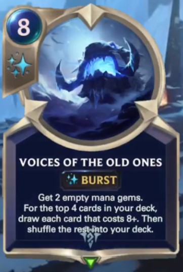 voices of the old ones reveal