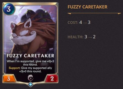 fuzzy caretaker 1.14
