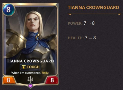 tianna crownguard 1.14