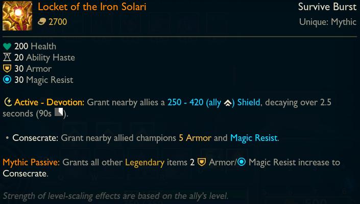 Mythic - Locket of the Iron Solari