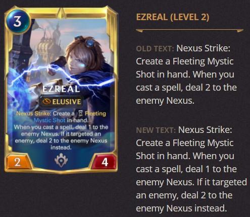 ezreal level 2 1.14