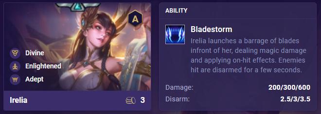 tft irelia ability