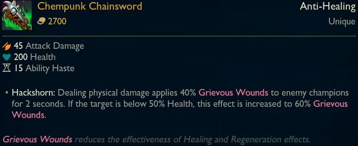 Legendary - Chempunk Chainsword