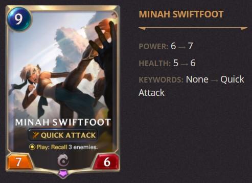 minah swiftfoot 1.14