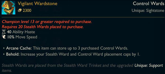 Legendary - Vigilant Ward
