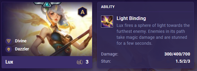 tft lux ability