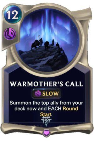 warmother's call jpg