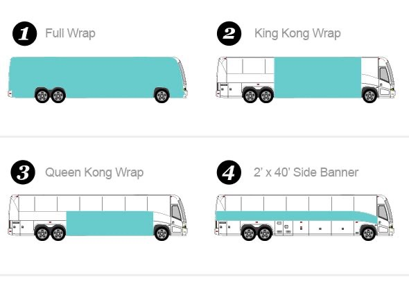 bus wrap options