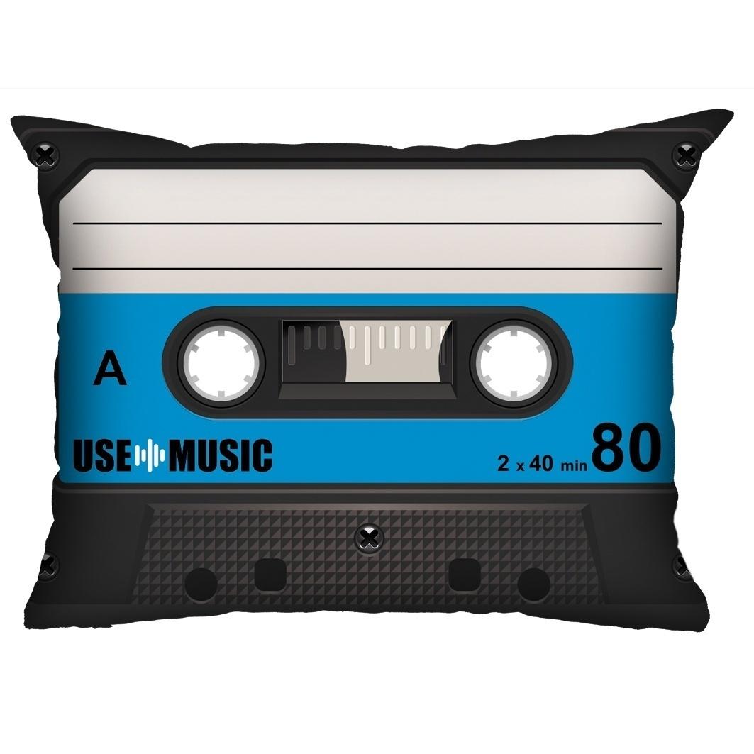 Almofada Fita-Cassete Azul