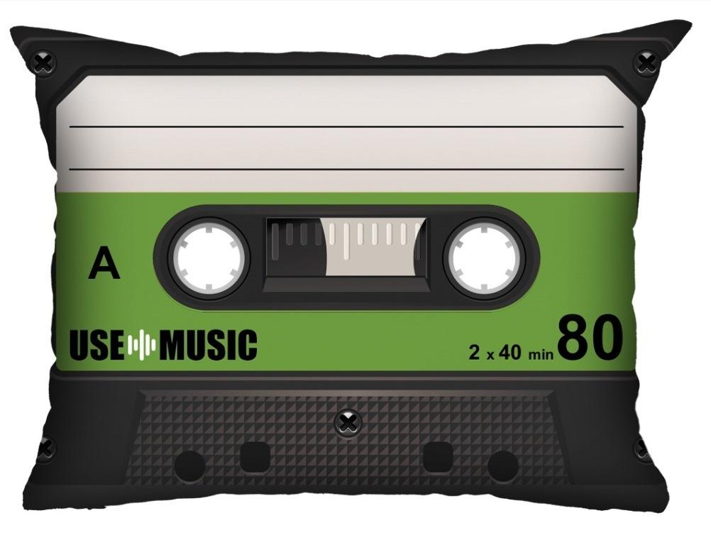 Almofada Fita-Cassete Verde