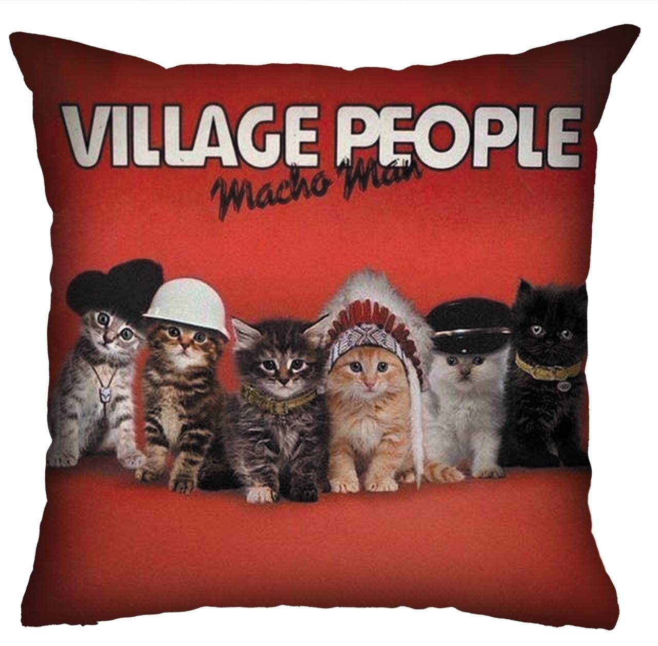 Almofada Pet Use - Village Cats - Gatos
