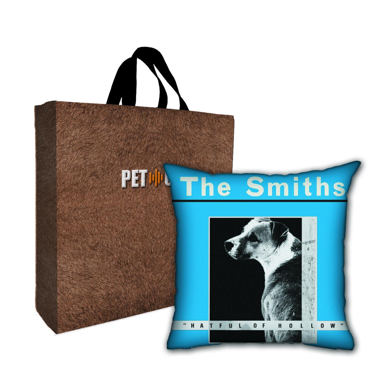 Kit Almofada & Sacola Bege Pet Use - The Dogths - Cachorro