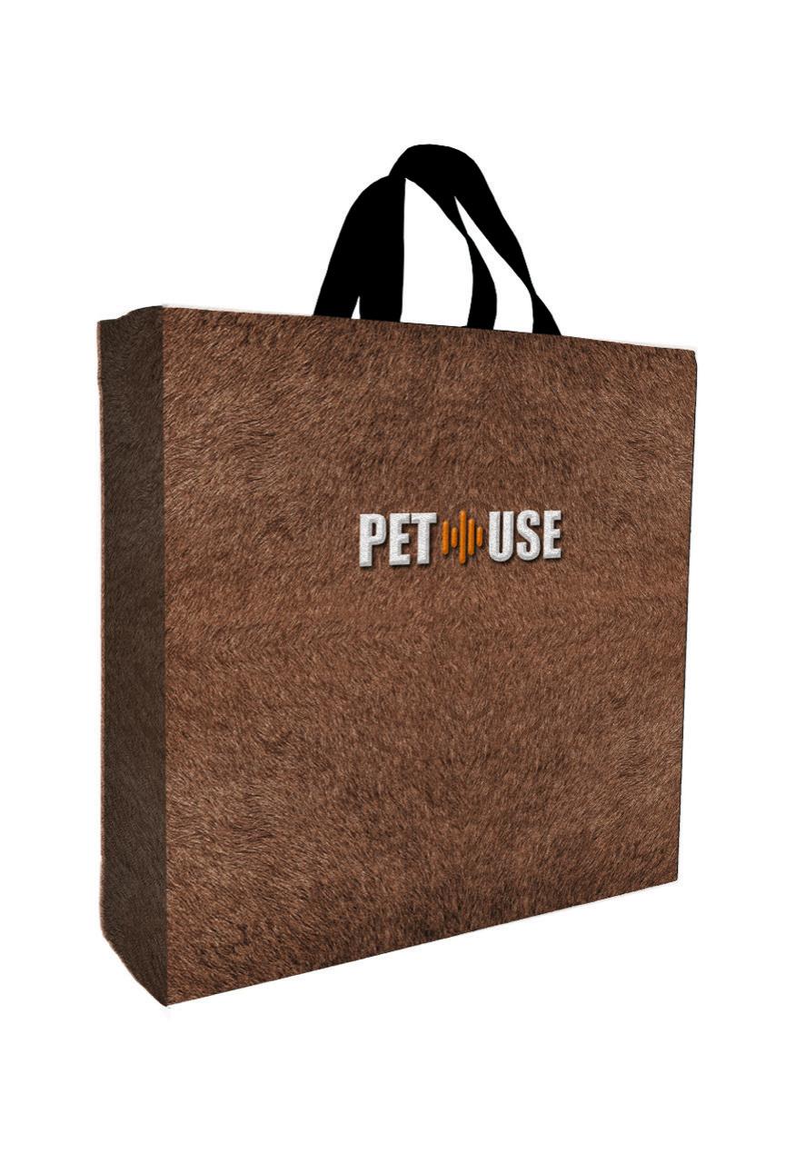 Sacola Pet Use Bege