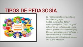 Tipos De Pedagogía By Frch908 On Emaze