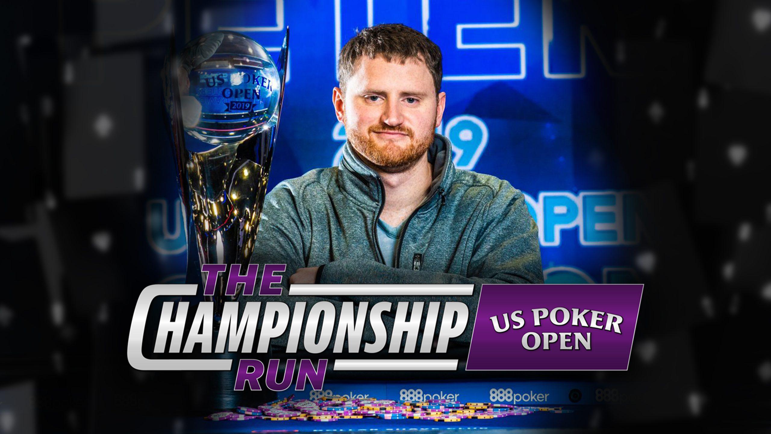 Watch The Championship Run: U.S. Poker Open | David Peters on PokerGO Now!