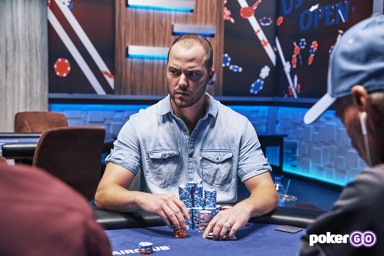 Sean Winter Leads Event #12: $50,000 No-Limit Hold'em Final Table: Sam Soverel Still in Contention for the USPO Championship
