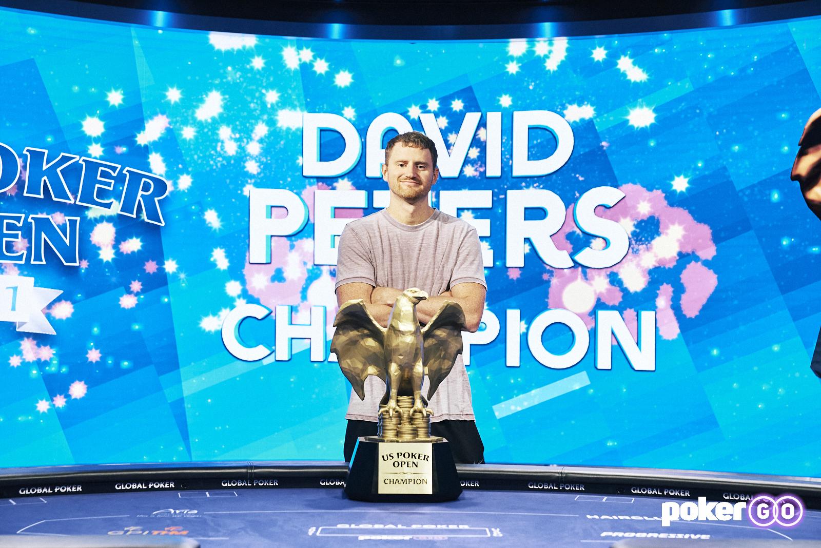David Peters Wins Second Straight U.S. Poker Open Championship