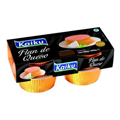Flan de queso 4x100 g