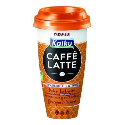 Café latte con caramelo 230 ml