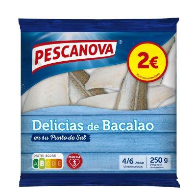Delicias de bacalao, 250 g