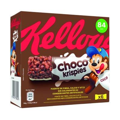 Barritas de cereal Choco krispies 6x20 g