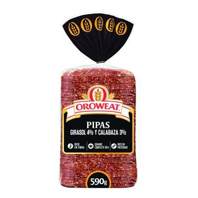 Pan de molde con pipas y semillas 680 g