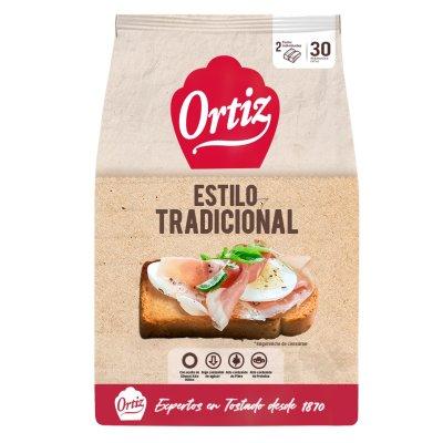 Pan tostado tradicional 30 unidades