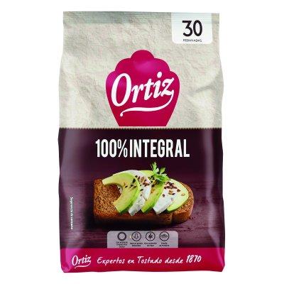 Pan tostado integral 30 unidades
