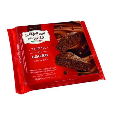 Torta al cacao 400 grs