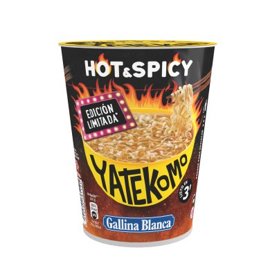 Yatekomo hot&spicy vaso de 60 g