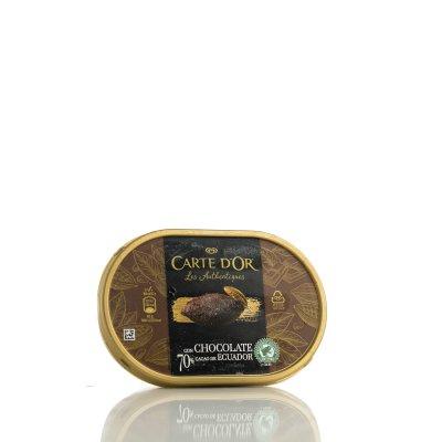 Helado 70% chocolate Ecuador 750 ml