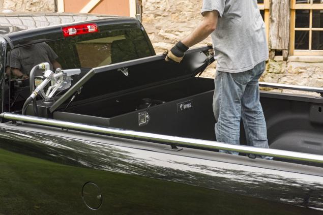 UWS steel-aluminum combo transfer tank tool box