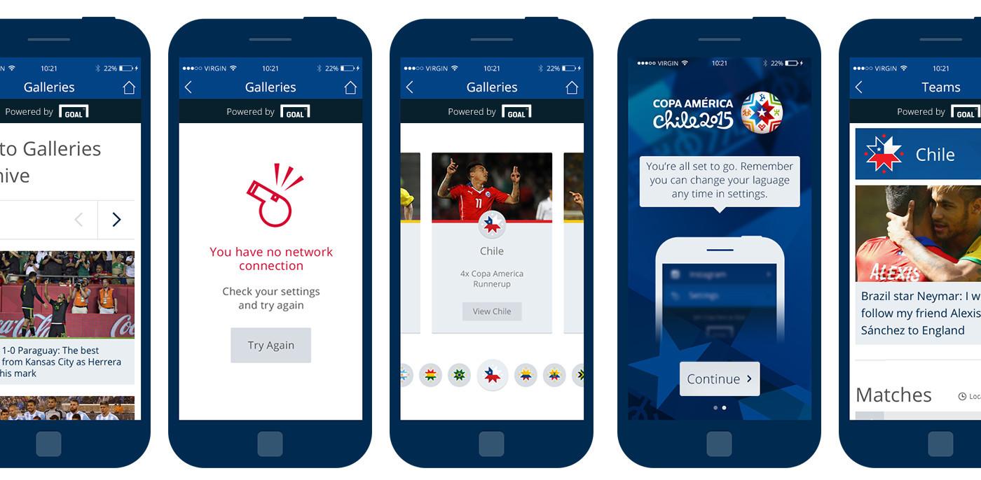 Copa América -  The Official App