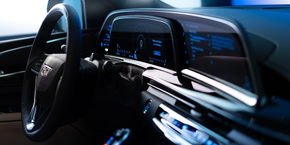 2021 Cadillac Navigation System