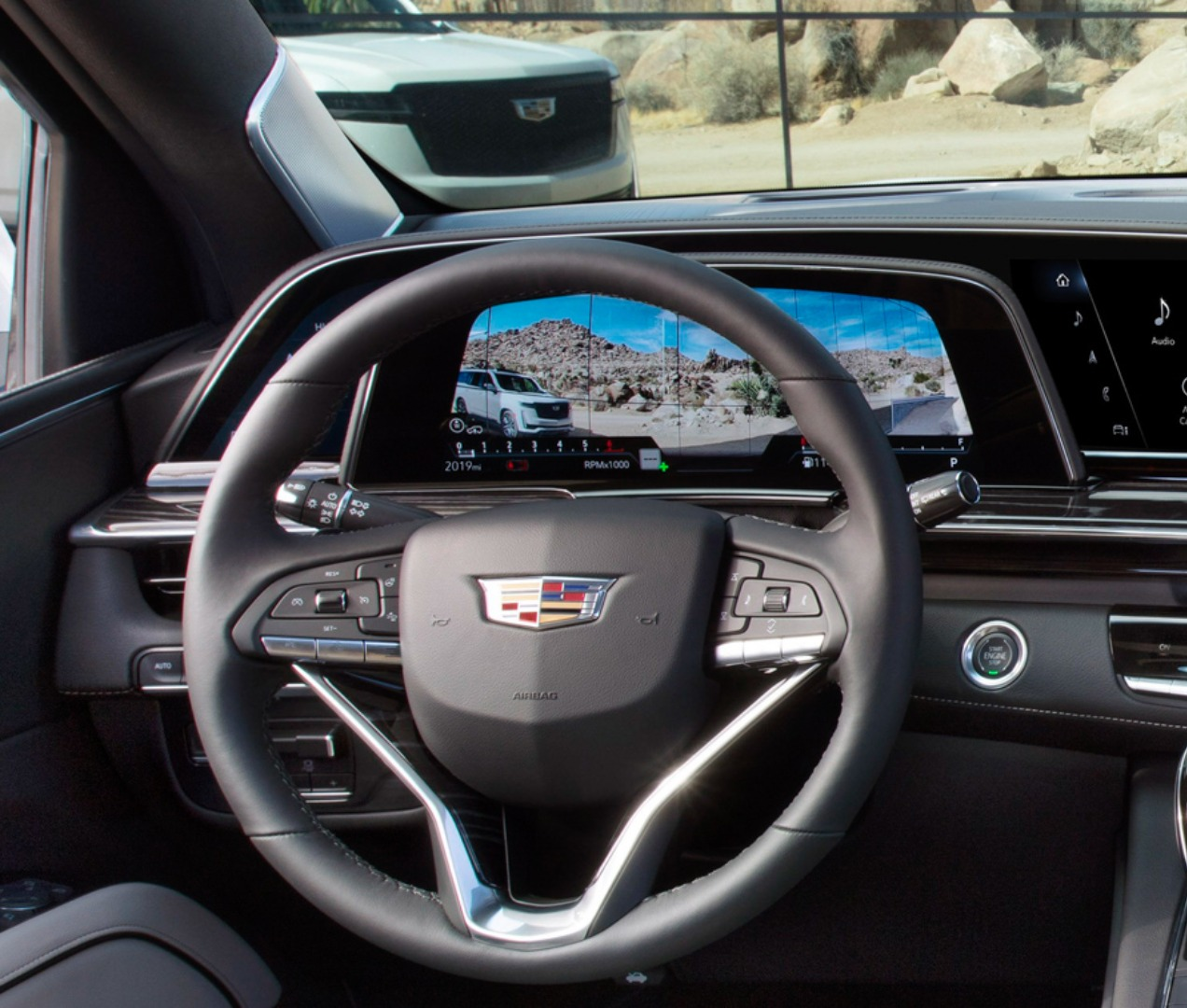 2021 Cadillac Augmented Reality