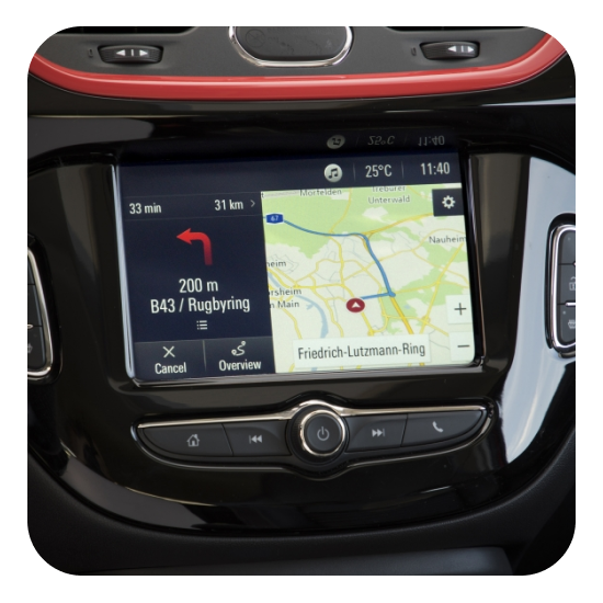 2018 Opel Navigation System